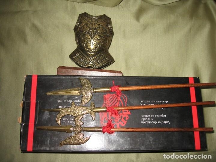 Militaria: SOPORTE CON TRES picas - Foto 3 - 174334874