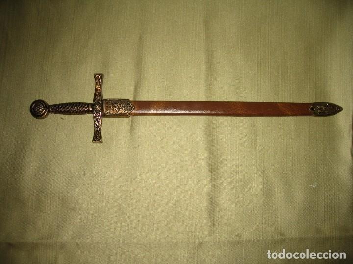 MINI ESPADA CON FUNDA (Militar - Armas Blancas, Reproducciones y Piezas Decorativas)