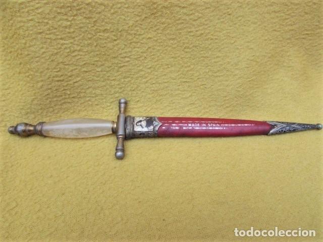 ABRE CARTAS TOLEDO DECORAD, FINO MADE IN ESPAÑA (Militar - Armas Blancas, Reproducciones y Piezas Decorativas)