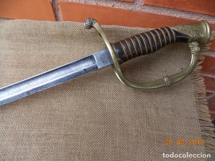 Militaria: Sable Oficial Caballería 1860 - Foto 9 - 174494963