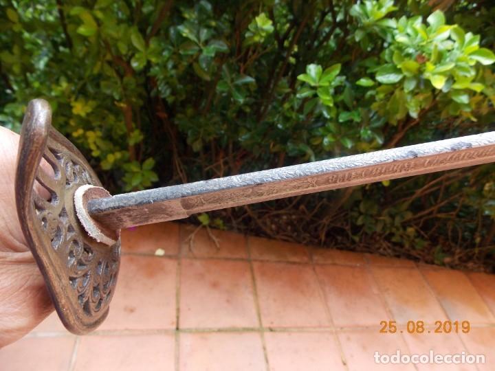 Militaria: Sable Oficial Artillería Suizo 1860 - Foto 8 - 174495412