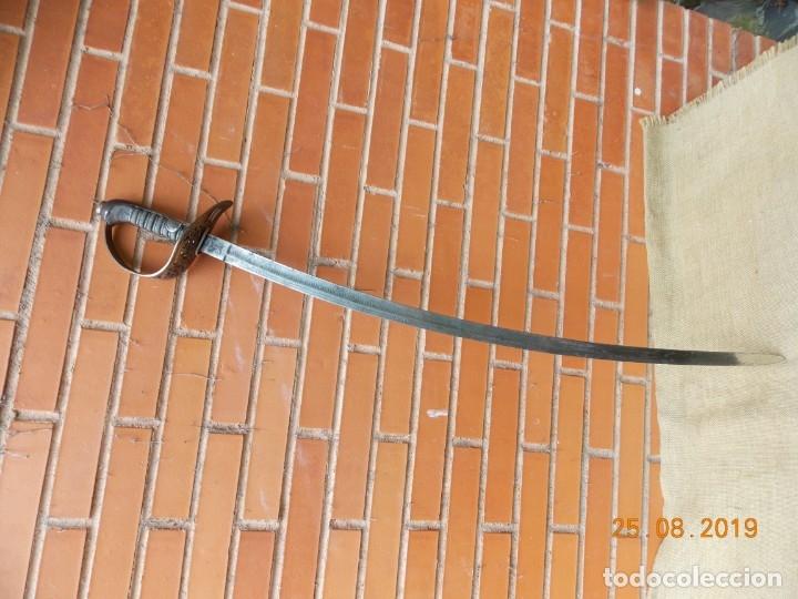 Militaria: Sable Oficial Artillería Suizo 1860 - Foto 13 - 174495412