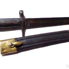 Militaria: BAYONETA ITALIANA PARA FUSIL CARCANO. GUERRA CIVIL.CASA TORINO.. Lote 175219934