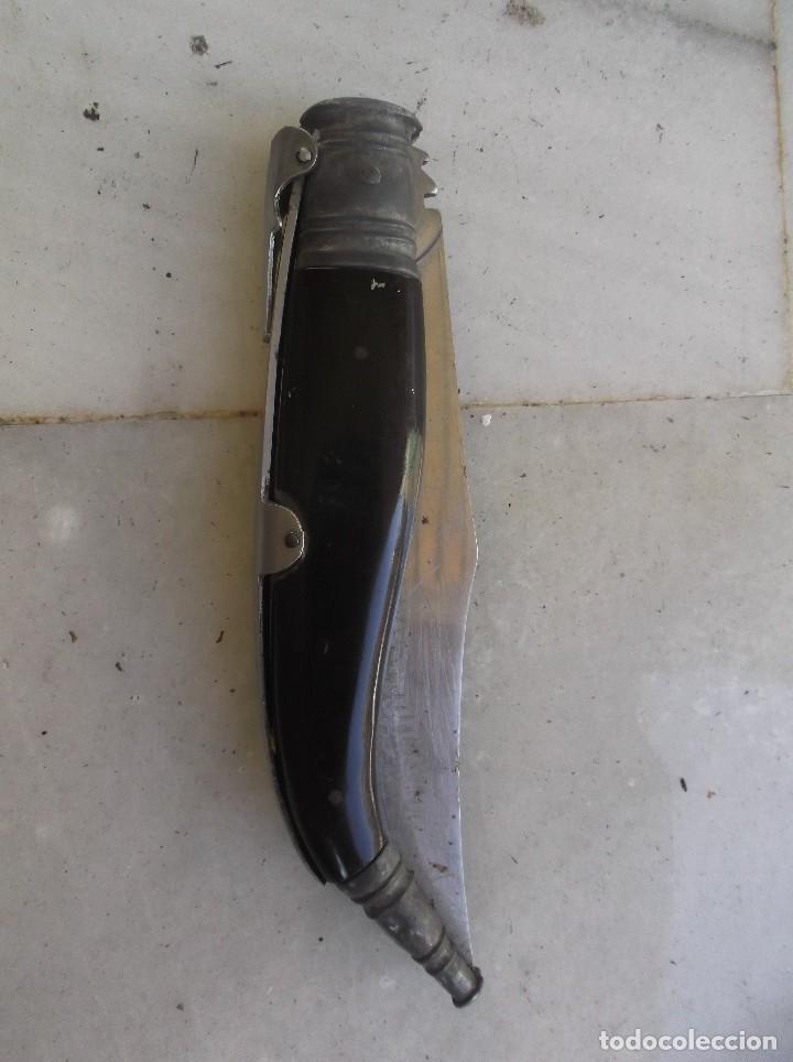 NAVAJA DE ALBACETE (Militar - Armas Blancas Originales Fabricadas entre 1851 y 1945)