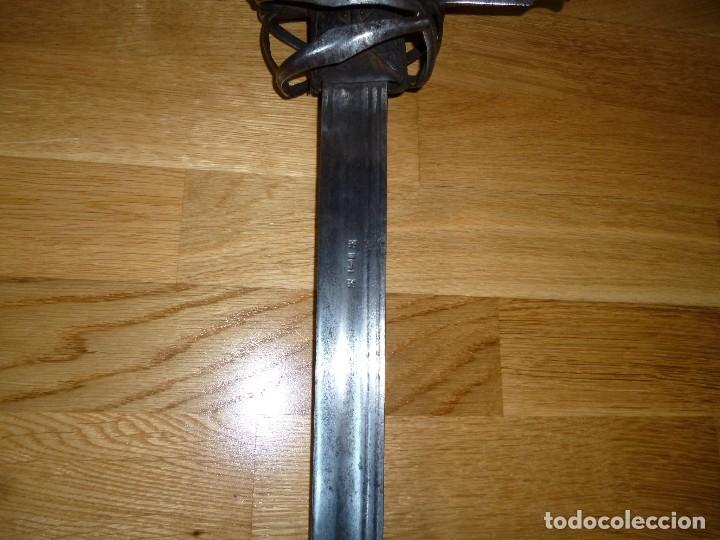 Militaria: Espada Schiavona siglo XVII no sable no daga - Foto 9 - 175675885