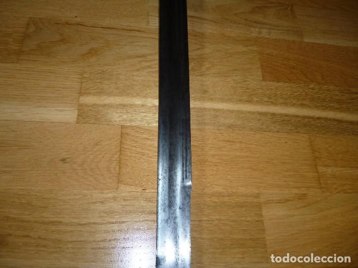 Militaria: Espada Schiavona siglo XVII no sable no daga - Foto 10 - 175675885