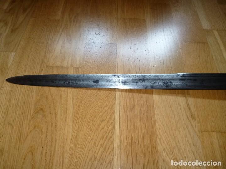 Militaria: Espada Schiavona siglo XVII no sable no daga - Foto 16 - 175675885