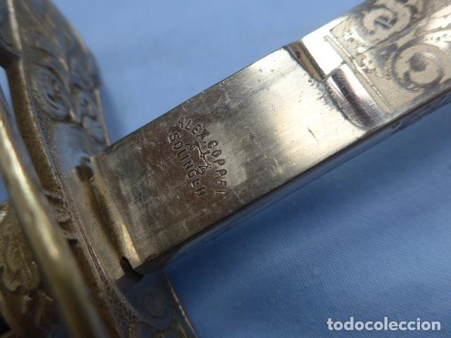 Militaria: * Antigua espada de fabricacion española para alemania / Rumania, original. ZX - Foto 2 - 175896645