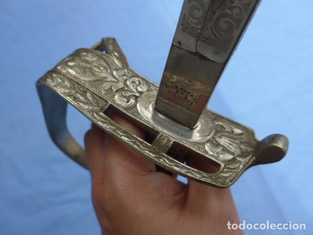 Militaria: * Antigua espada de fabricacion española para alemania / Rumania, original. ZX - Foto 11 - 175896645