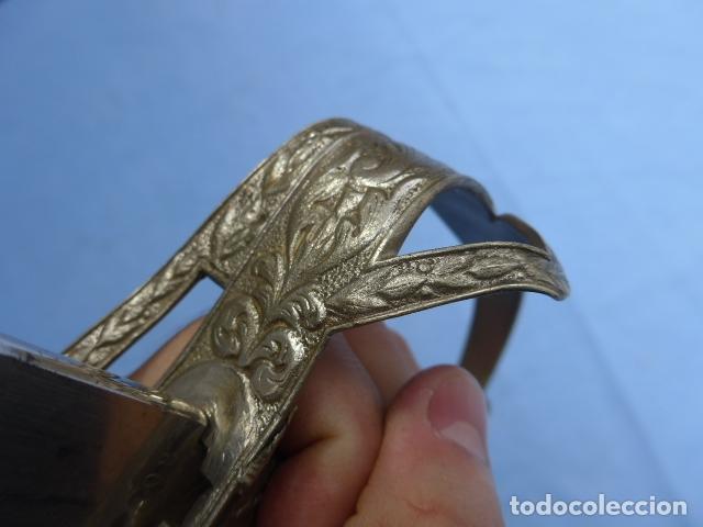 Militaria: * Antigua espada de fabricacion española para alemania / Rumania, original. ZX - Foto 12 - 175896645