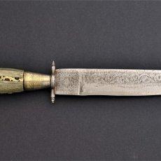 Militaria: CUCHILLO DE ALBACETE S. XIX. Lote 176080689