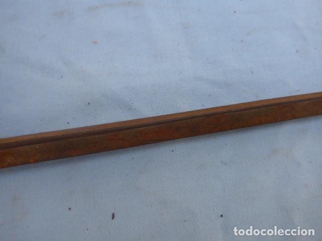 Militaria: * Antigua bayoneta de cubo de remington, original, siglo XIX. ZX - Foto 3 - 176622533
