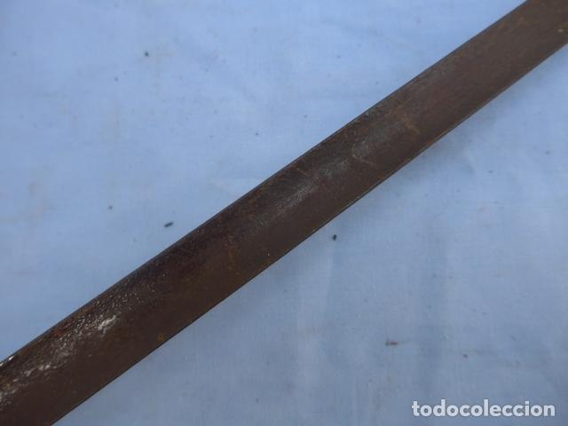 Militaria: * Antigua bayoneta de cubo de remington, original, siglo XIX. ZX - Foto 13 - 176623202