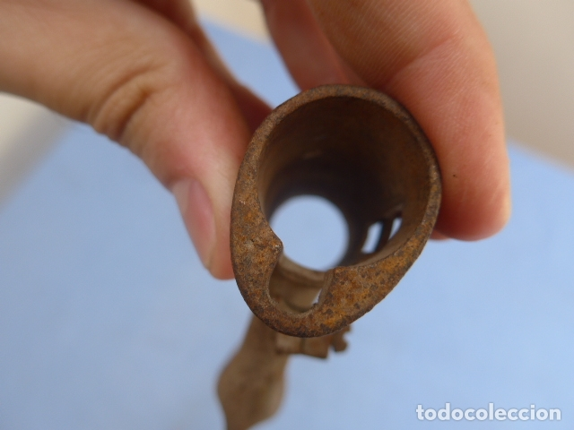 Militaria: * Antigua bayoneta de cubo de remington, original, siglo XIX. ZX - Foto 9 - 176623778