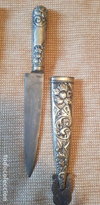 Militaria: Cuchillo antiguo facon argentino daga tandil - Foto 3 - 176993052