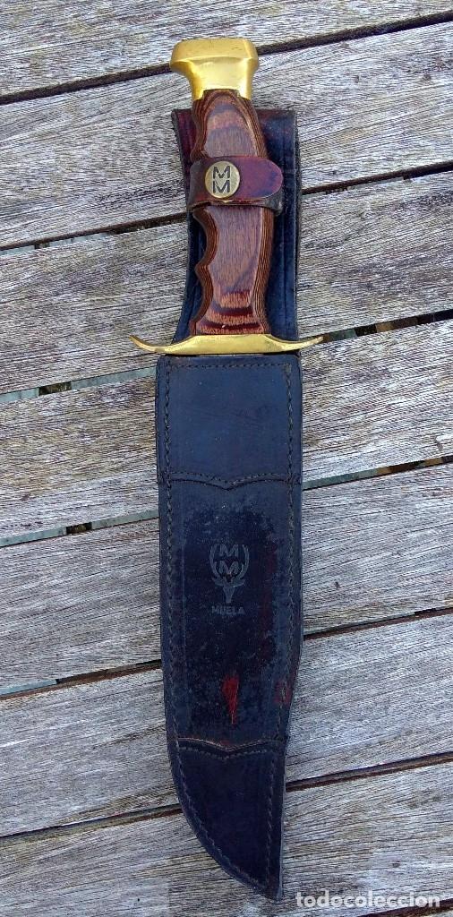 CUCHILLO BOWIE MUELA (Militar - Armas Blancas Originales de Fabricación Posterior a 1945)
