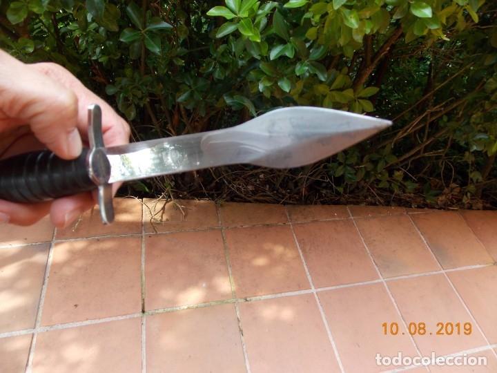 Militaria: Cuchillo de lanzar Fabricación Francesa - Foto 5 - 178557575