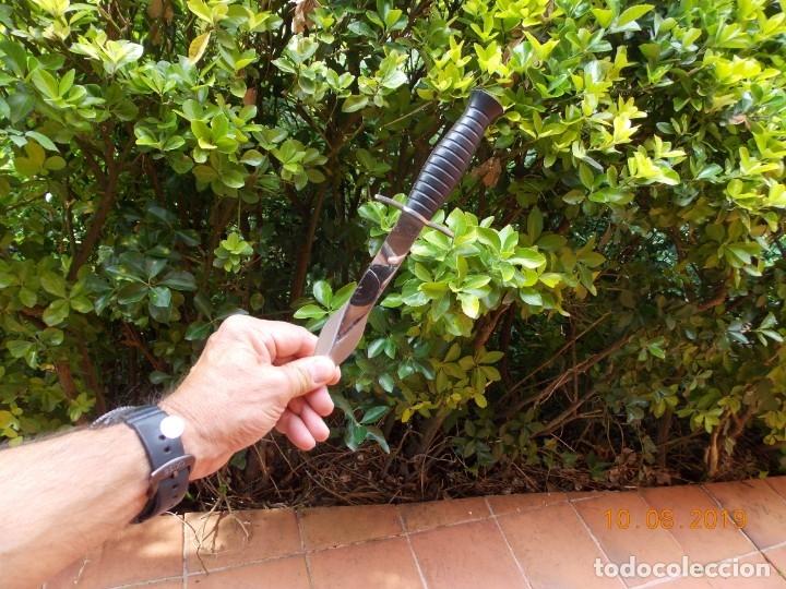 Militaria: Cuchillo de lanzar Fabricación Francesa - Foto 6 - 178557575