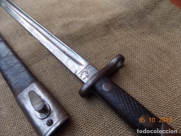 Militaria: Bayoneta Española Modelo 1911 - Foto 2 - 178706067