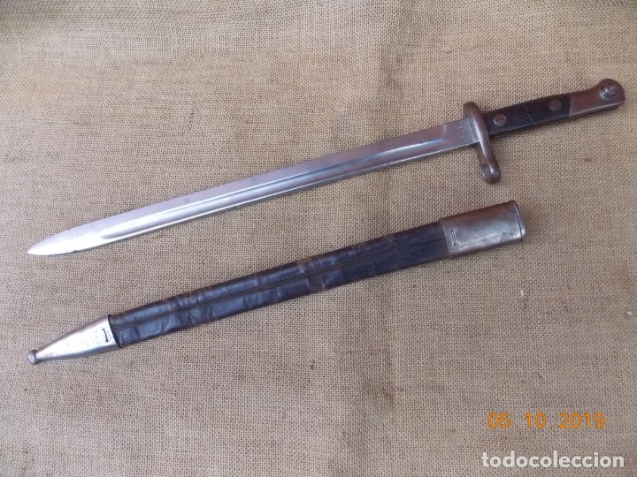 Militaria: Bayoneta Española Modelo 1911 - Foto 4 - 178706067