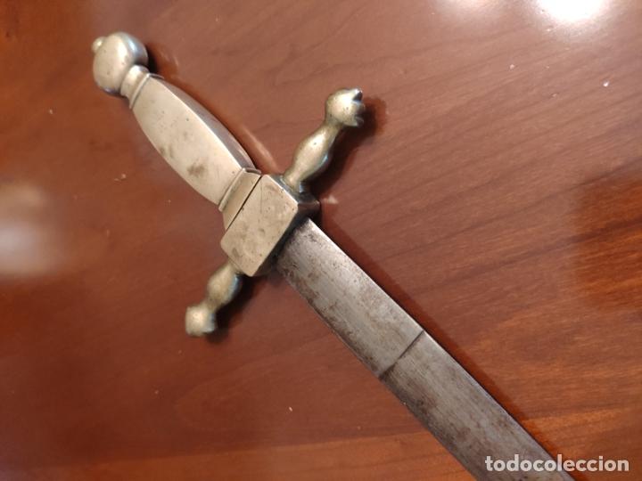 Militaria: Espada o Espadín academia de infantería, Isabel II?? Alfonso XIII??? Identificar - Foto 7 - 179033358