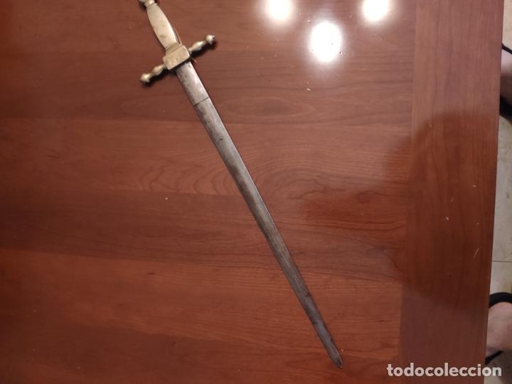 Militaria: Espada o Espadín academia de infantería, Isabel II?? Alfonso XIII??? Identificar - Foto 8 - 179033358
