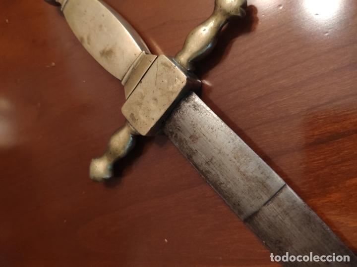 Militaria: Espada o Espadín academia de infantería, Isabel II?? Alfonso XIII??? Identificar - Foto 9 - 179033358
