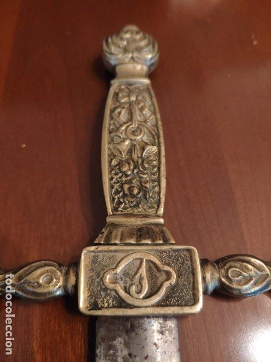 Militaria: Espada o Espadín academia de infantería, Isabel II?? Alfonso XIII??? Identificar - Foto 10 - 179033358