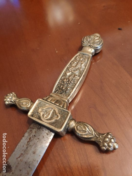 Militaria: Espada o Espadín academia de infantería, Isabel II?? Alfonso XIII??? Identificar - Foto 11 - 179033358