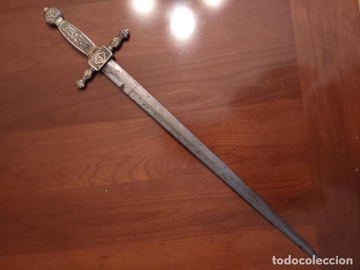 Militaria: Espada o Espadín academia de infantería, Isabel II?? Alfonso XIII??? Identificar - Foto 12 - 179033358