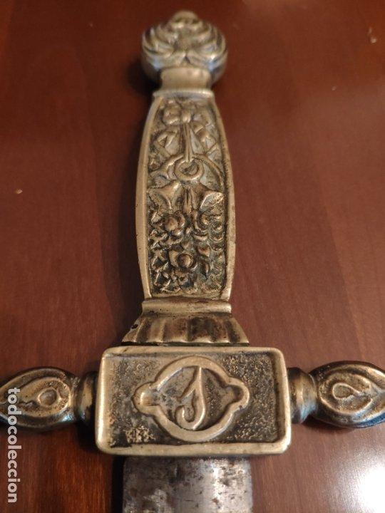 Militaria: Espada o Espadín academia de infantería, Isabel II?? Alfonso XIII??? Identificar - Foto 13 - 179033358