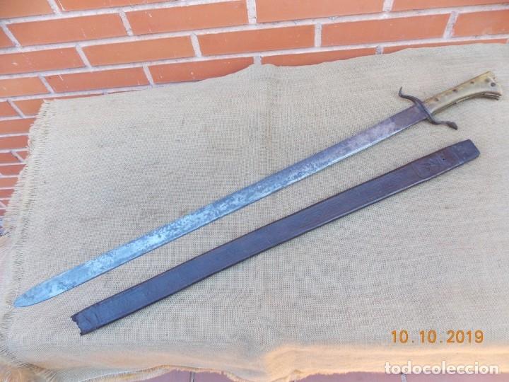 Militaria: Espada-Machete Guerra de Cuba - Foto 4 - 179048682