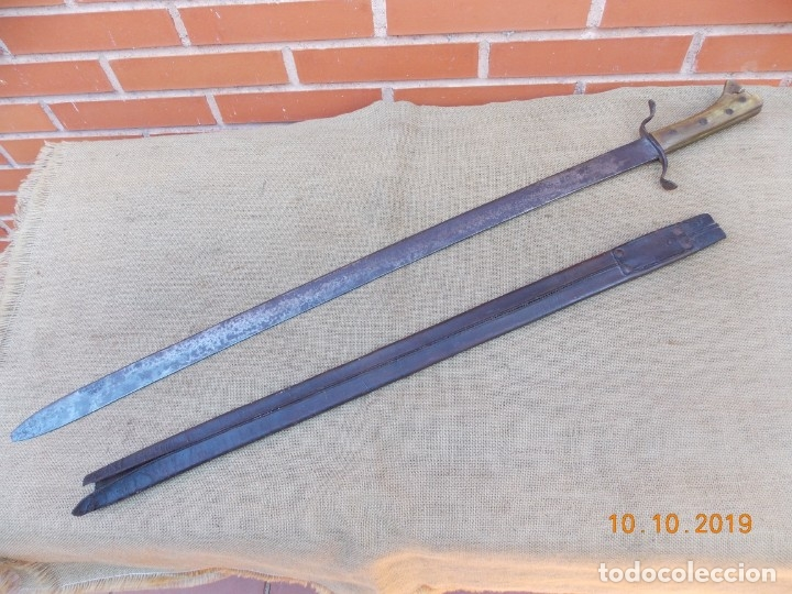 Militaria: Espada-Machete Guerra de Cuba - Foto 7 - 179048682