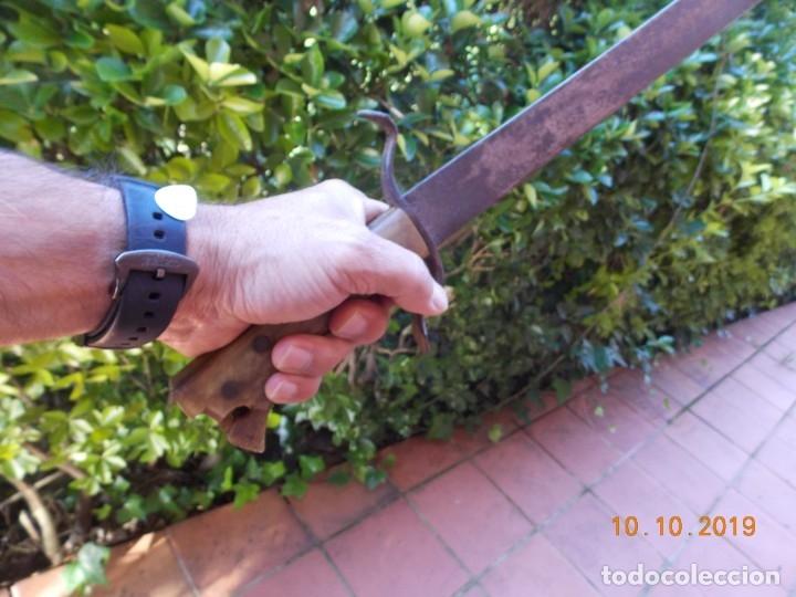 Militaria: Espada-Machete Guerra de Cuba - Foto 8 - 179048682