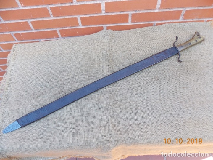 Militaria: Espada-Machete Guerra de Cuba - Foto 12 - 179048682