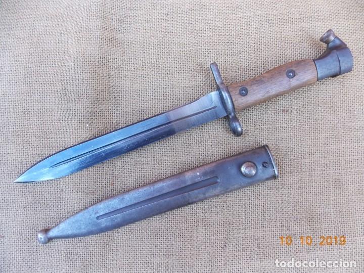 BAYONETA EGIPCIA PARA RIFLE HAKIM (Militar - Armas Blancas Originales Fabricadas entre 1851 y 1945)