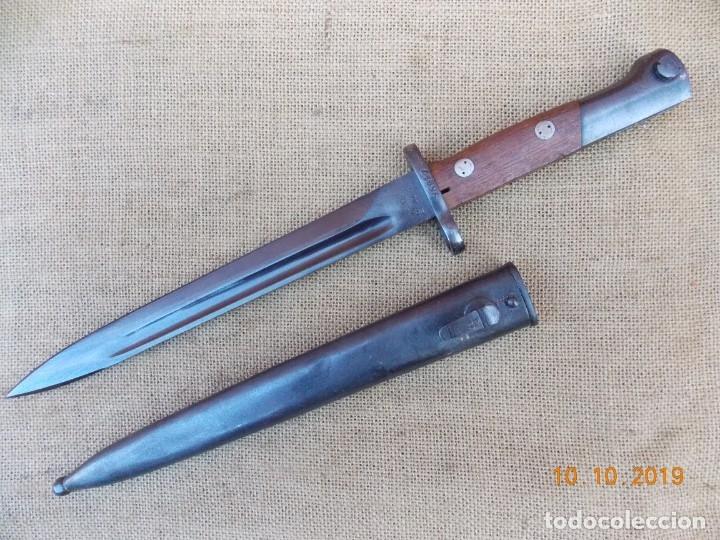 BAYONETA YUGOSLABA PARA FUSIL MAUSER (Militar - Armas Blancas Originales de Fabricación Posterior a 1945)