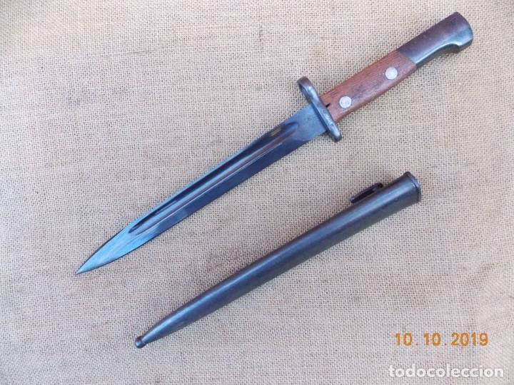 Militaria: Bayoneta Yugoslaba para Fusil Mauser - Foto 3 - 179049226