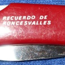 Militaria: NAVAJA - RECUERDO DE RONCESVALLES. Lote 179388931
