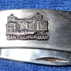 Militaria: NAVAJA - RECUERDO DE SANTILLANA. Lote 179389141