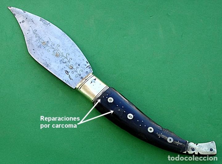 Militaria: ANTIGUA NAVAJA DE ALBACETE - Foto 8 - 180022208