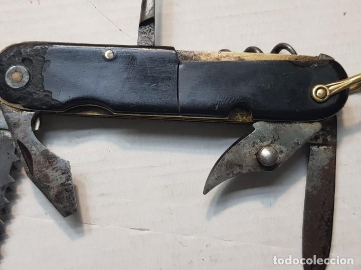 Militaria: Navaja antigua multiusos IHER (antigua Aitor) made in Spain rara - Foto 3 - 180396387