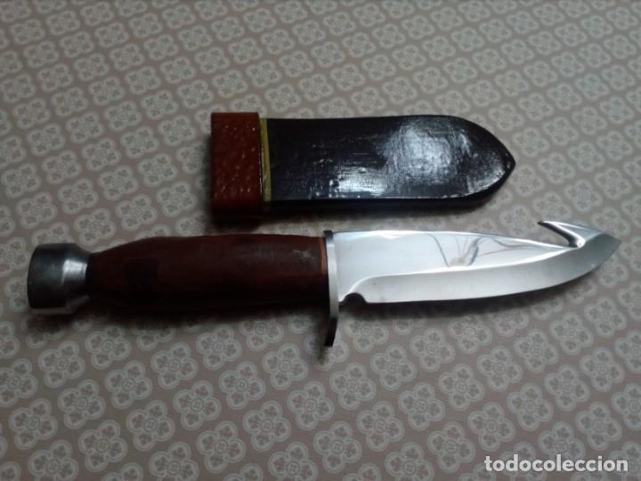 Militaria: Cuchillo artesanal - Foto 2 - 181848500