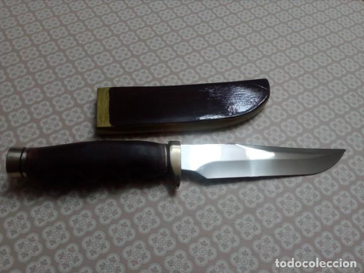 Militaria: Cuchillo artesanal - Foto 2 - 181848838
