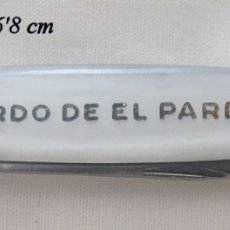 Militaria: NAVAJA RDO DE EL PARDO SANTO CRISTO ALBACETE. Lote 182175983