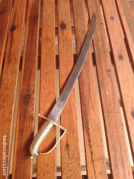 Militaria: Espada sable Briquet Granedier Francés 1767 - Foto 2 - 183429391