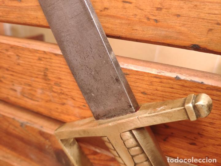 Militaria: Espada sable Briquet Granedier Francés 1767 - Foto 9 - 183429391