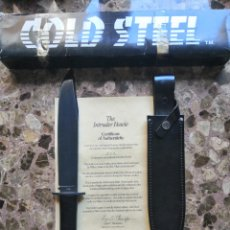 Militaria: COLD STEEL COLLECTION INTRUDER BOWIE LIMITED EDITION #258/500 - NO AITOR. Lote 183674315