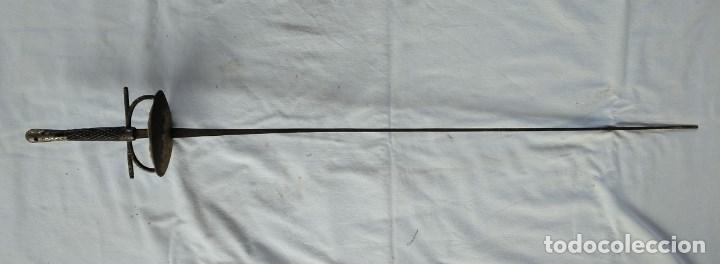 FLORETE DE ESGRIMA SIGLO XIX - XX (Militar - Armas Blancas Originales Fabricadas entre 1851 y 1945)