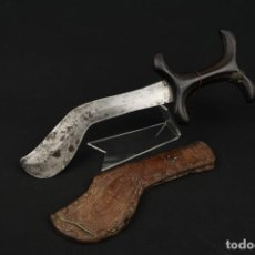 Militaria: ANTIGUA DAGA O CUCHILLO AFRICANO AFRICA SIGLO XIX. Lote 187206438